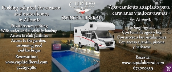 Parking caravanas swinger